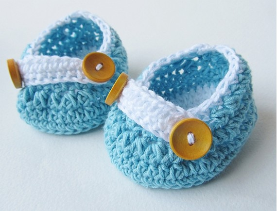 Crochet Baby Shoes-BS2502