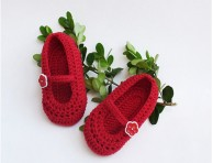 Crochet Baby Shoes-BS2506