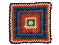 CROCHET BIG CUSHION COVER-NC573