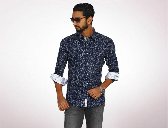 Raymond Fine Cotton Long Sleeve Shirt-4934