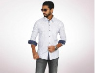 Raymond Fine Cotton Long Sleeve Shirt-4935