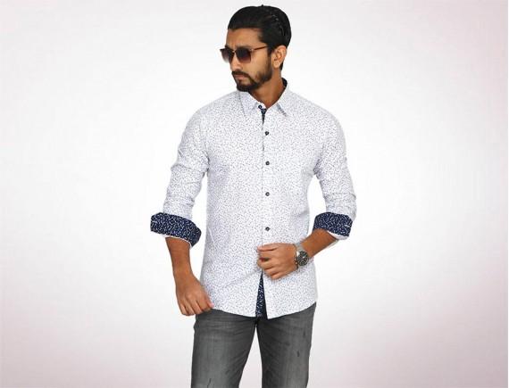 Raymond Fine Cotton Long Sleeve Shirt-4935