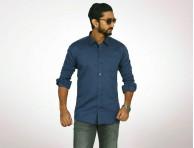 Raymond Fine Cotton Long Sleeve Shirt-4950