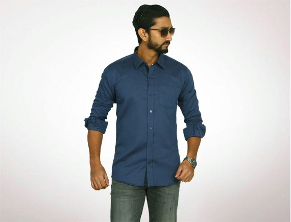 Raymond Fine Cotton Long Sleeve Shirt-4950