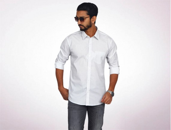 Raymond Fine Cotton Long Sleeve Shirt-4956