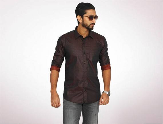 Raymond Fine Cotton Long Sleeve Shirt-4961